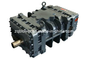 Low Noise Three Lobe Rotor Roots Pump (ZG-100) pictures & photos