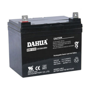 12V 35ah VRLA Sealed Lead Acid Maintenance Free UPS Battery pictures & photos
