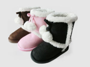 Child′s Nice Cute Pretty Warm Soft Snow Boots for Winter pictures & photos