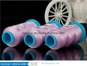 100% Trilobal Polyester Embroidery Thread High Strength Good Lubrication pictures & photos