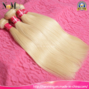 European Russian Blonde Human Hair / Keratin Straight Russian Hair pictures & photos