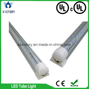 60W 8FT LED Tube Light Fixture V Shape UL cUL Daylight T8 LED Tube 270 Degree Beam Angle pictures & photos