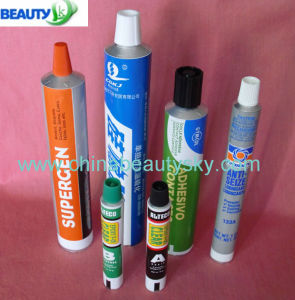Long Nozzel Aluminum Tubes for Glue / Adhesive Pegamento Tubos pictures & photos