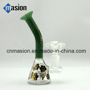 Colored Glass Smoking Water Pipe (ZY001) pictures & photos
