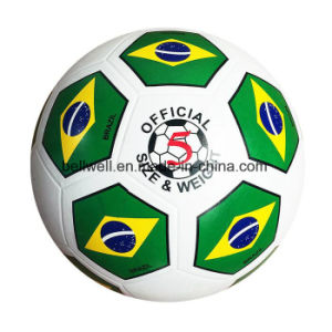 TPU Material Official Size Top Quality Soccer Ball pictures & photos