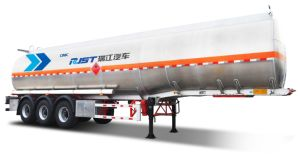 45m3 Three Axle Aluminium Alloy Tank