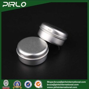 15ml 1/2oz Aluminum Cosmetic Jar with Lid for Cosmetic Cream Hair Wax Lip Balm pictures & photos