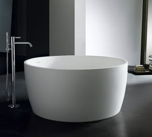 Round Solid Surface Bathtub Sanitary Ware
