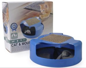 New Design Shadowless Cat Corrugated Plate Play Cat Catch Mouse Toy Cat Toys pictures & photos