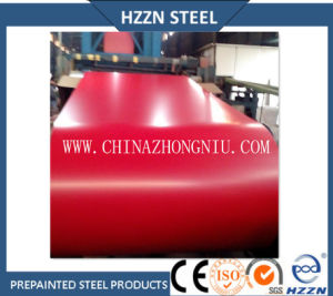 Prepainted Steel Coil (PPGI, Red Color RAL3009) pictures & photos