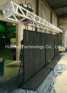 Flc-3000 P18.25 Light Weight Soft LED Video Curtain Cloth Display