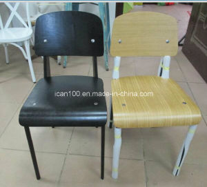 Jean Prouve Style Black Standard Chair (DC-151014) pictures & photos