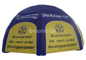 0.6mm PVC Tarpaulin Air Sealed Dome Tent for Advertising (TEN31)