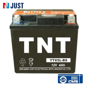 Ytx5l-BS 12V 4ah AGM Motorcycle Battery pictures & photos