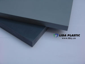 Best Quality Grey PVC Rigid Sheet pictures & photos