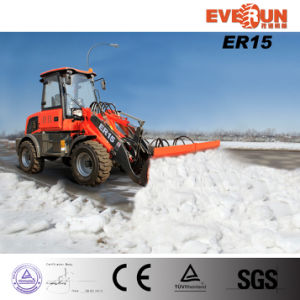 Er15 Snow Blade Wheel Loader with Eoruiii Engine for Sale pictures & photos