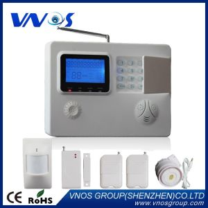 Auto-Dail Voice Prompt Intelligent GSM/PSTN Wireless Burglar Alarm System