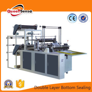 Double Layer Flat Bag Making Machine (SHXJ-B600-1000) pictures & photos