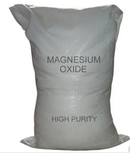 White or Yellow Powder 90%Min Magnesium Oxide for Industrial pictures & photos