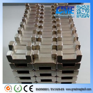 High Quality Strong Customized Rare Earth Stepped Magnet pictures & photos