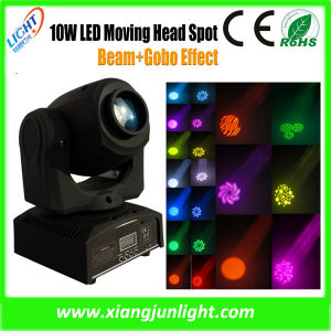 LED10W CREE Mini Cheap Moving Head Lights pictures & photos
