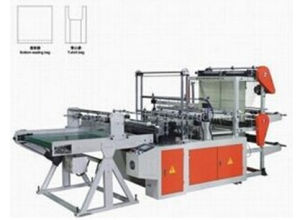 High Quality Rolled Garbage Rubbish Vest Plastic Bag Making Machine