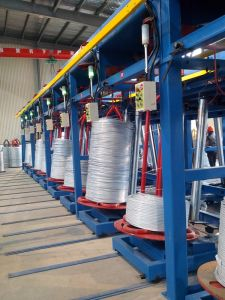 Automatic Steel Wire Hot DIP Galvanizing Production Line pictures & photos