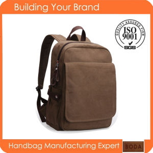 Fashion Leisure Travel Canvas Backpack pictures & photos