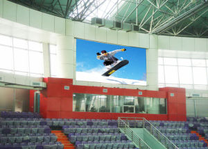 Sports Stadium LED Display Screen Indoor P7.62 Tricolor LED Billboard