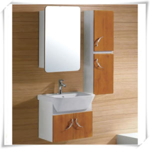 Solid Wood Under Sink with Cabinet for Bathroom pictures & photos