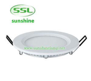 6W Ultra Thin LED Round Panel Light