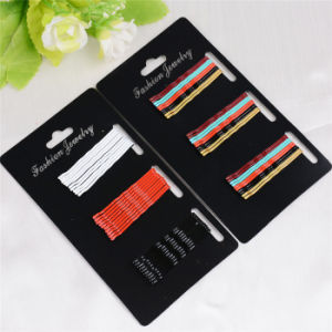 30 Pieces Card Packed Colorful Metal Hair Bobby Pins (JE1030) pictures & photos