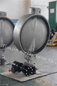 CF8m Stainless Steel Wafer Butterfly Valve with Ce ISO Wras Approved (CBF01-TA01)