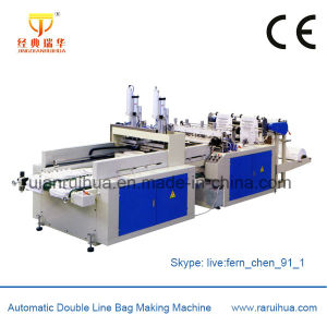 Bottom Sealing Biodegradable Plastic Bag Making Machine pictures & photos