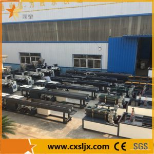 One Head Two Cavties PVC Cable Conduit Pipe Production Line pictures & photos