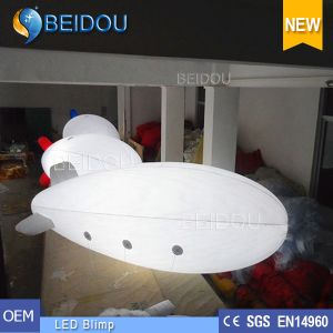Lighted Inflatable Air Helium Balloon LED Advertising RC Airship Blimp