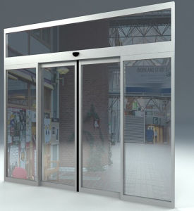 Professional Quality Automatic Sliding Door (MBS-160) pictures & photos