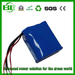 Customized 11.1V 5.2ah Outdoor Use Li-ion Battery High Temperature Battery pictures & photos