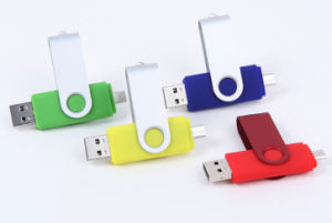 Customized OTG USB Storage Gadget Pendrive Free Sample pictures & photos