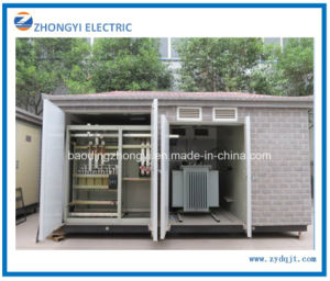 Prefabricated 33kv Compact Electric Transformers Substation Electric Substation Equipment pictures & photos