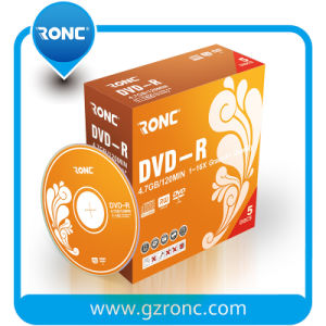 4.7GB up to 16X Branded Recordable DVD-R (1-Disc) Jewel Case pictures & photos