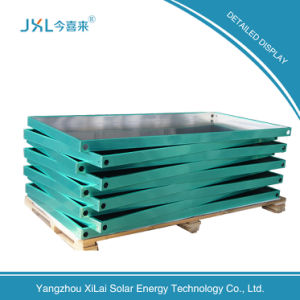 Black Steel Hot Sale Flat-Plate Solar Collector pictures & photos