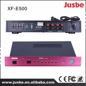 Xf-E500 Professional Integrated Amplifier 2*80W/8ohm pictures & photos