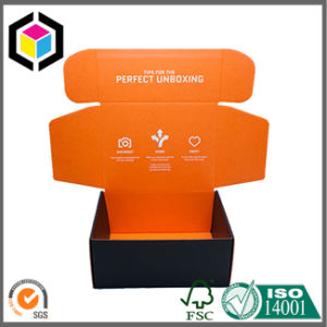 Tuck Top Color Printing Corrugated Cardboard Shipping Paper Box