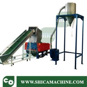 30HP Plastic Granulator with Silo for HDPE Container pictures & photos