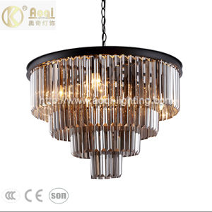 Modern Design Amber Crystal Pendant Light pictures & photos