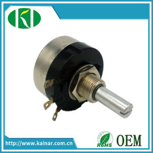 Ra28 10k Ohm 1.5W Single Turn Wirewound Potentiometer Adjustable Resistance pictures & photos