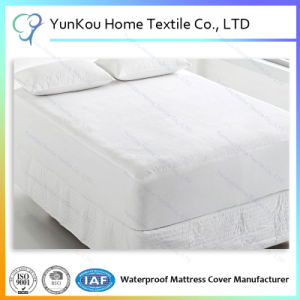 Extra Deep Waterproof Terry Towel Fitted Waterproof Mattress Protector pictures & photos