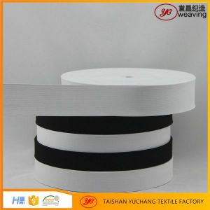 Wholesale Custom Flat Knitted Imported Rubber Elastic Belt Material
