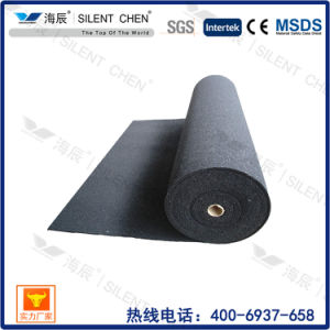 3mm 100% Acoustic Natural Rubber Underlay with Aluminum Foil